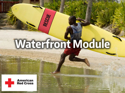 waterfront lifeguarding module